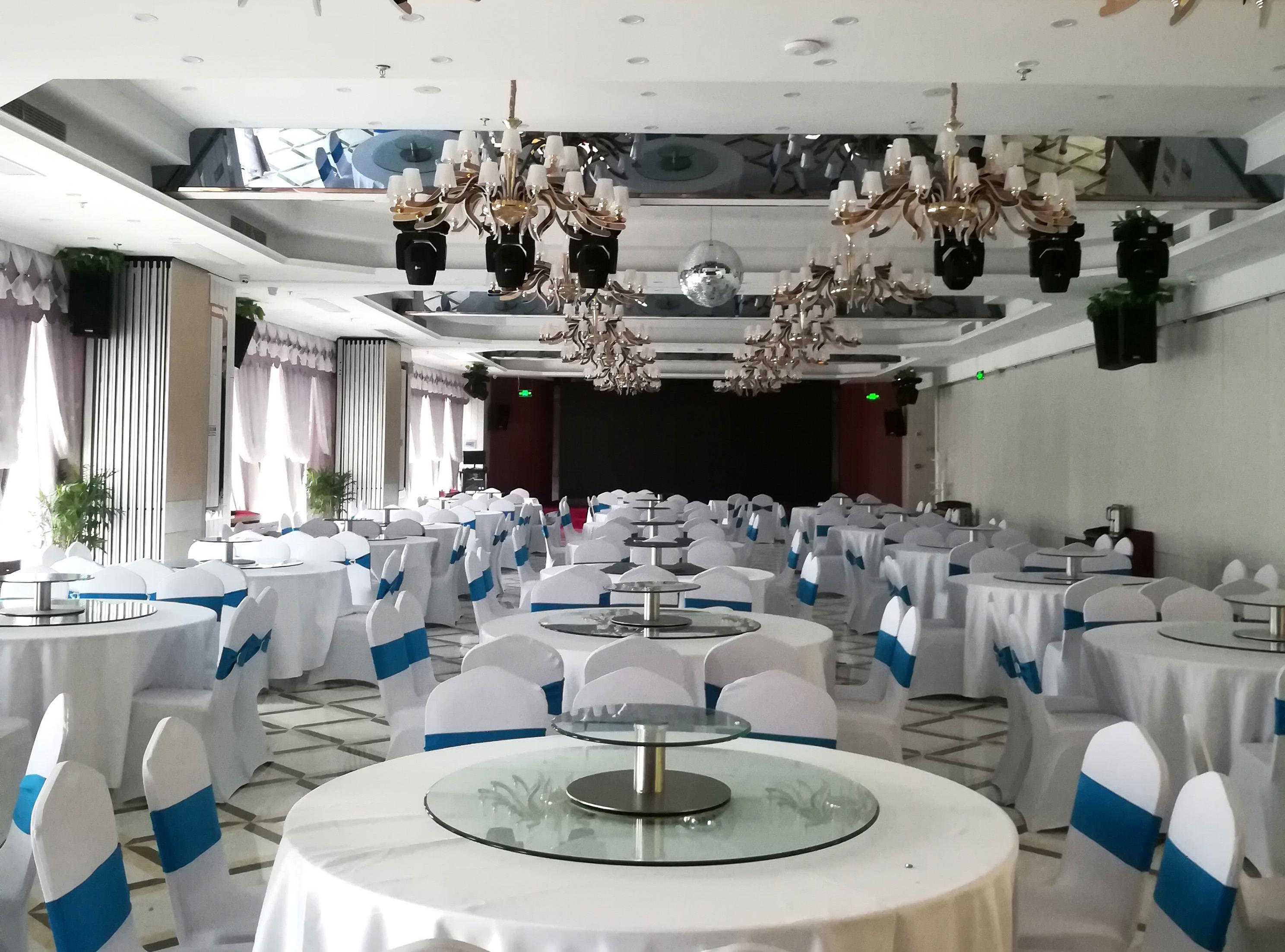 亿博国际备用网站电子(King-Bang)专业扩声系成功进驻南京浦口市民中心酒店宴会厅