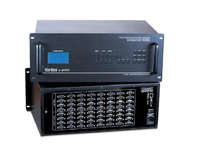 VGA三十二进二十四出模拟矩阵切换器(带音频)K-4VS3224