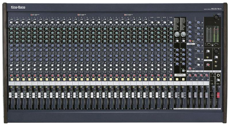 32路调音台   MG32/14FX