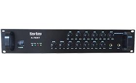 带6分区可调音合并式广播功放系列K-760BT