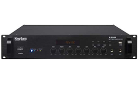带MP3合并式广播功放   K-650M