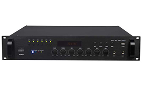 带MP3六分区合并式广播功放    K-500MB