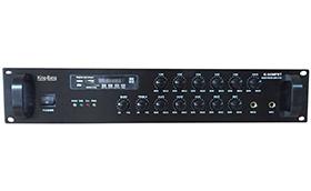 带MP3/收音机/六分区音量可调合并式功放    K-120MFBT