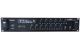 带MP3/收音机/六分区音量可调合并式功放    K-240MFBT