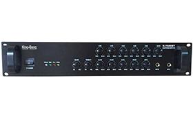 带MP3/收音机/六分区音量可调合并式功放    K-650MFBT