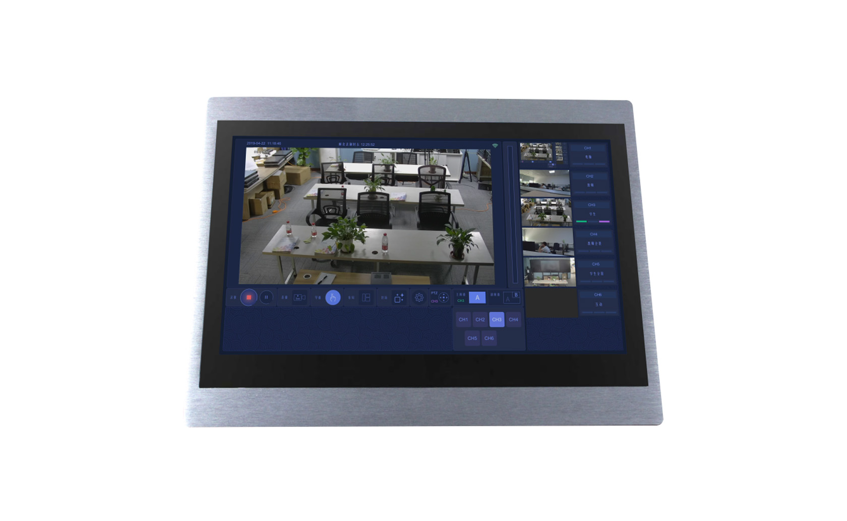 壁挂触控式录播一体机(不带SDI)  K-8940W