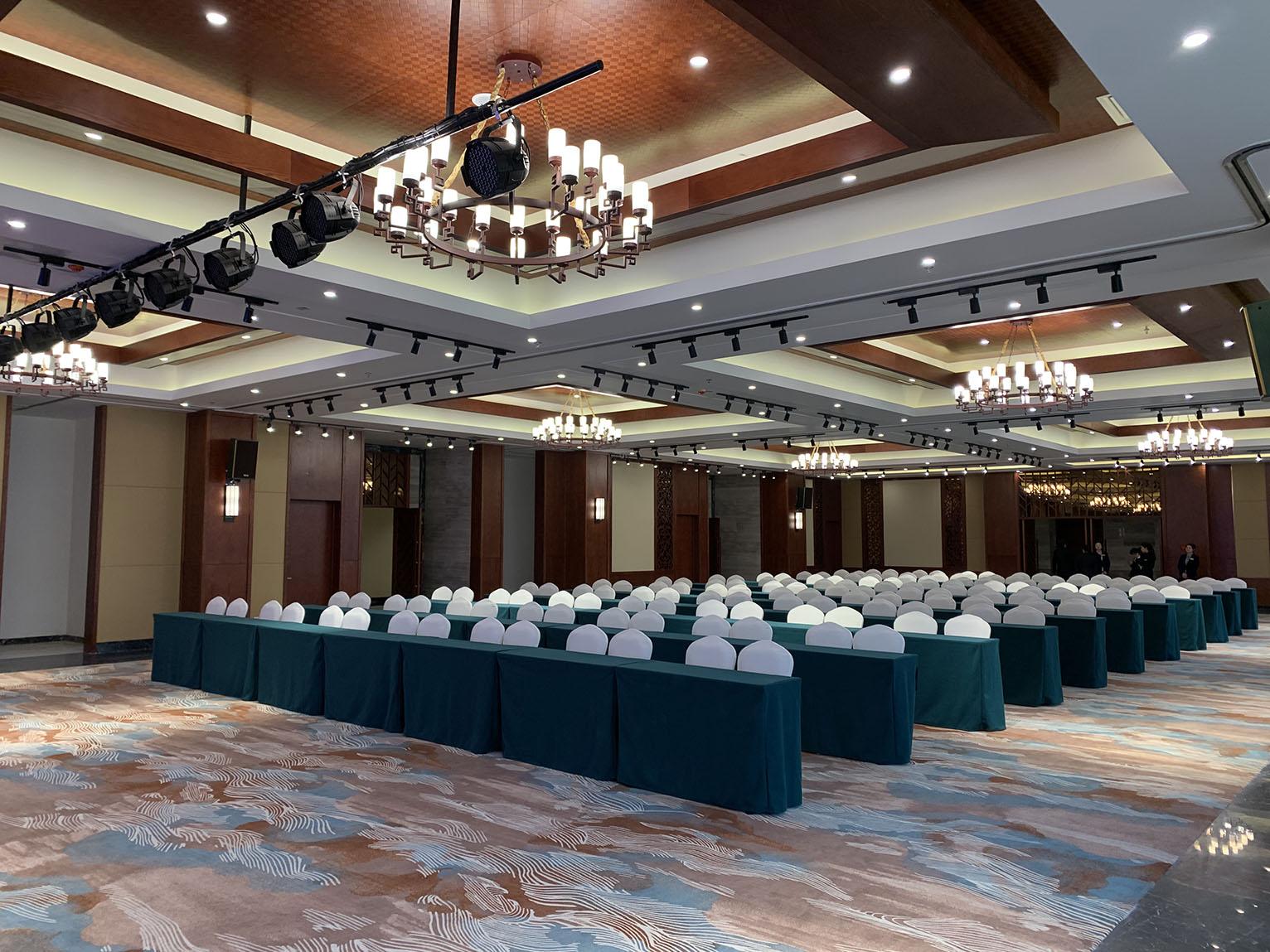 【京邦·会议系统案例】东海青松林酒店宴会厅