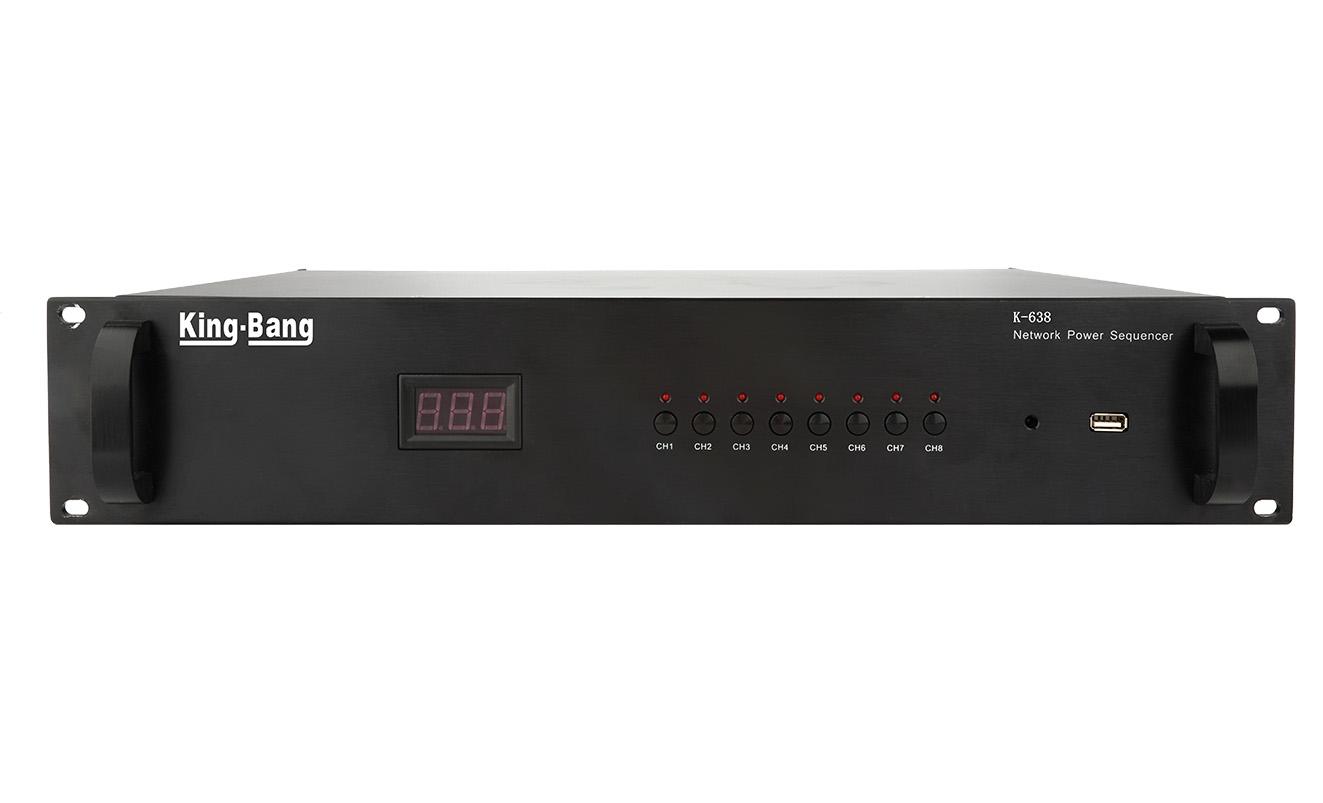 网络八路电源时序器K-638