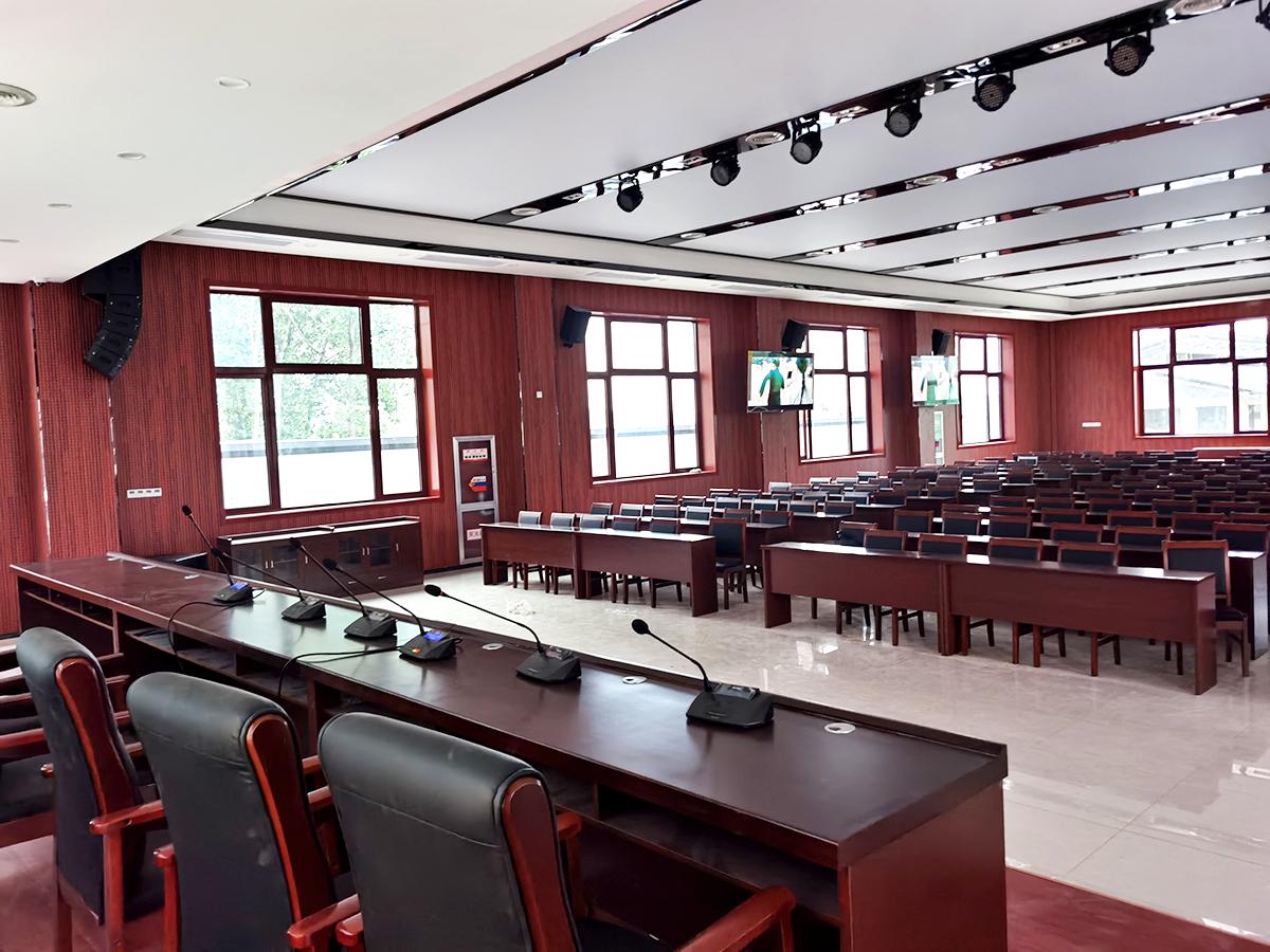 【京邦·数字会议系统】安徽天长市龙岗党校